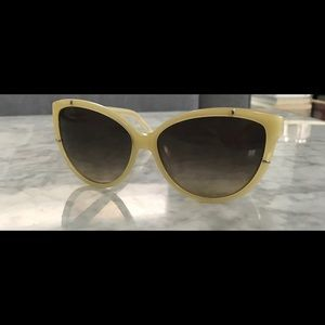 Chloé Yellow Sunglasses